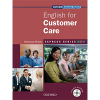 ENGLISH FOR CUSTOMER CARE STUDENT BOOK & MULTI-ROM PACK