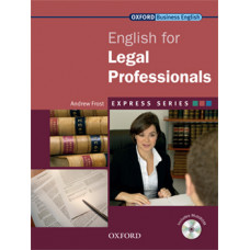 ENGLISH FOR LEGAL PROFESSIONALS STUDENT BOOK & MULTI-ROM PACK