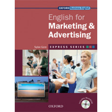 ENGLISH FOR MARKETING & ADVERTISING STUDENT BOOK & MULTI-ROM PACK