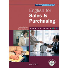 ENGLISH FOR SALES & PURCHASING STUDENT BOOK & MULTI-ROM PACK
