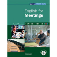 ENGLISH FOR MEETINGS STUDENT BOOK & MULTI-ROM PACK