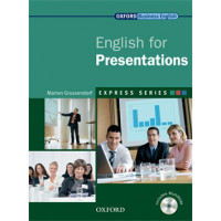 ENGLISH FOR PRESENTATIONS STUDENT BOOK & MULTI-ROM PACK