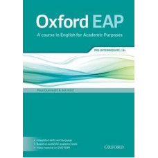 Oxford EAP Pre-Intermediate Student's Book with DVD-ROM Pack