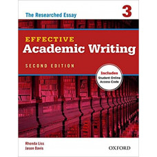 Effective Academic Writing 3 The Researched Essay: Student Book with Access Code