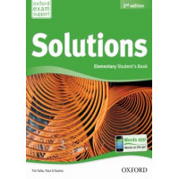 Solutions 2nd Edition Elementary Student's Book+Workbook