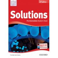 Solutions 2n Edition Pre-Intermediate Student's Book+Workbook